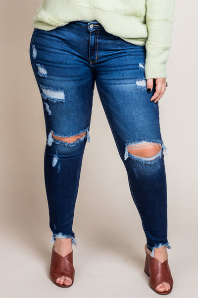 Power Of Desire Denim (XL-3X)