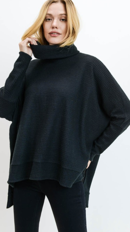 Parren Black Sweater