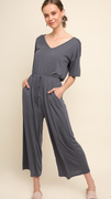 Rachel Jumpsuit in Ash