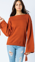Aspen Rust Sweater