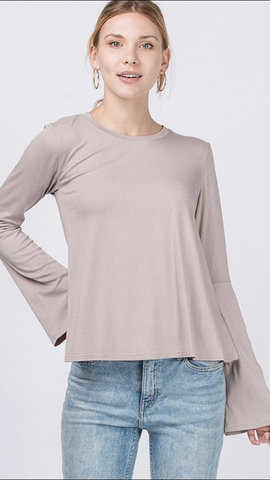 Blakely Mauve Top