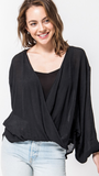 Mary McCann Top in Black