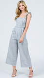 The Callie Jumpsuit in Navy