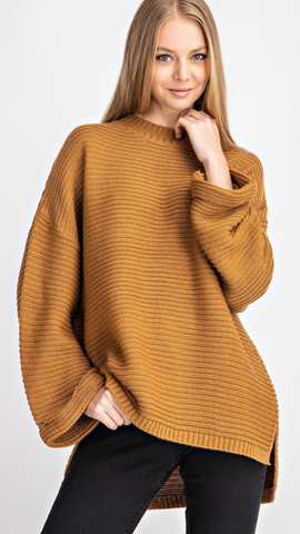 Remmy Camel Sweater