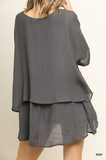 Kennedy Tunic in Ash