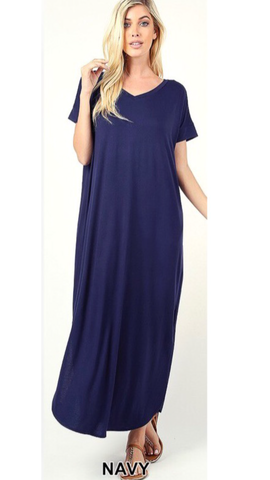 Maybe Mine Maxi in Navy