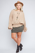 Taupe Talk Top