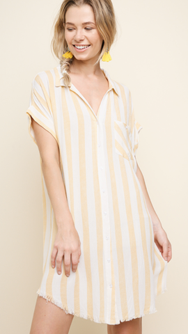 Sunshine Stripe Dress