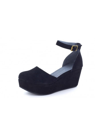 Wanetta in Black Suede by Chocolat Blu