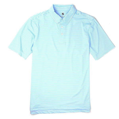 Performance Polo in Sky Blue by Southern Proper