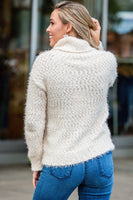 You Were My Girl Sweater in Cream