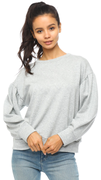 Ariel Sweater in Heather Gray