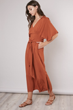 Madison Rust Jumpsuit