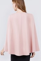 Pretty In Pink Cape Top