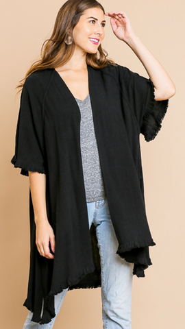 Colleen Cardigan in Black