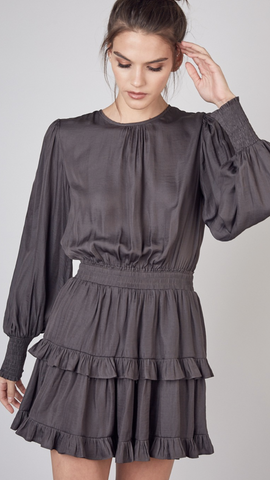 Mildred Charcoal Dress