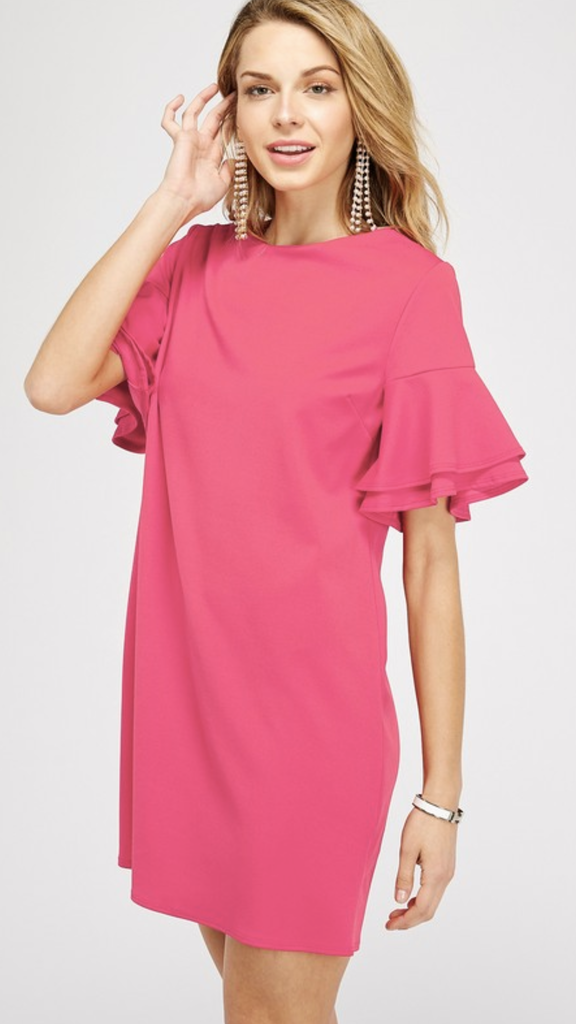 Madlyn Dress in Pink