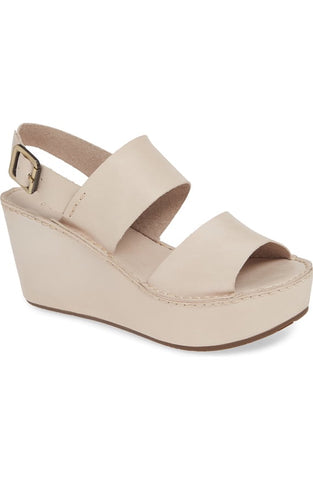 Wymen in Cream Leather by Chocolat Blu
