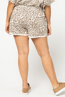 Lounge In Leopard Shorts
