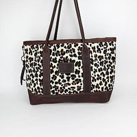 East-West Tote in Leopard by Canoe