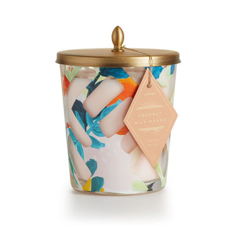 Coconut Milk Mango Cameo Jar Candle by Illume