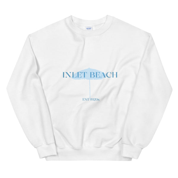 Inlet Beach Blue Graphic Unisex Sweatshirt