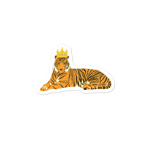 King Tiger Bubble-free stickers