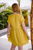 Mustard Michella Dress