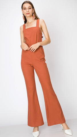 Ramsey Rust Jumpsuit