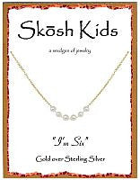I'm Six Pearl Necklace by Skosh