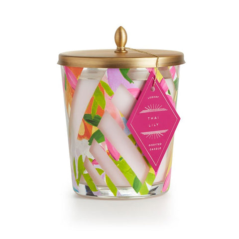 Thai Lily Cameo Jar Candle by Illume