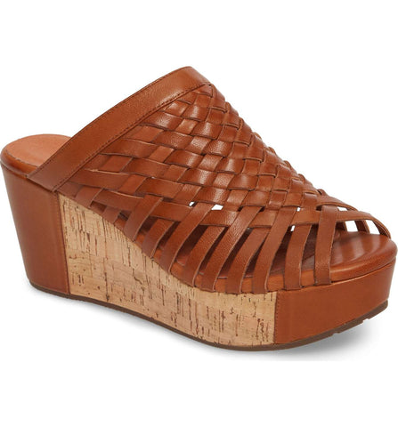 Walda in Brown Leather by Chocolat Blu