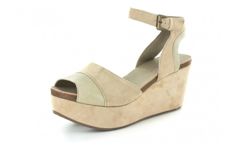 Welby in Taupe Suede by Chocolat Blu