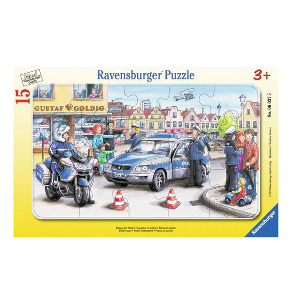 Puzzle Despliegue Policial