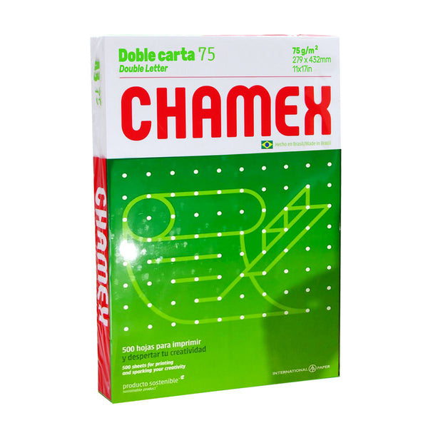 Resma chamex doble carta
