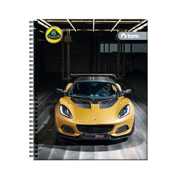Cuaderno universitario clasico lotus 7mm 100h
