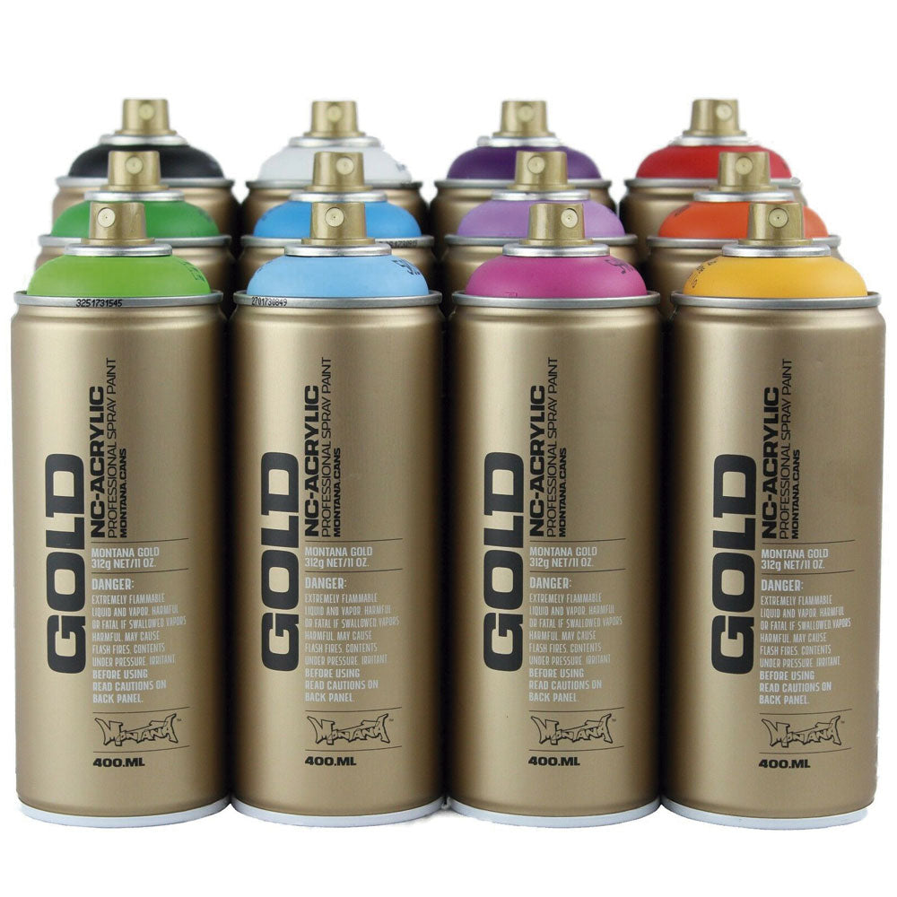 Spray Montana Gold P1000 100% Yellow 400ml