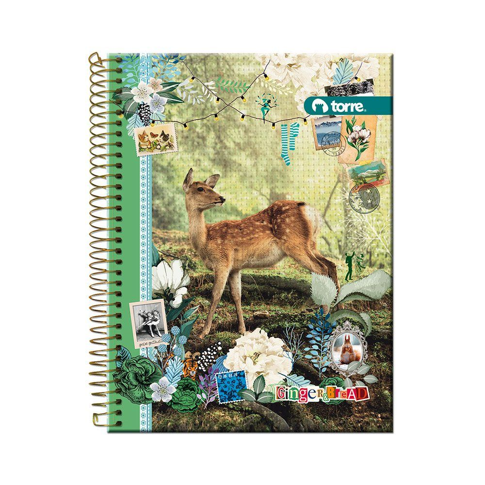 Cuaderno top ginger&bread 7mm 150h
