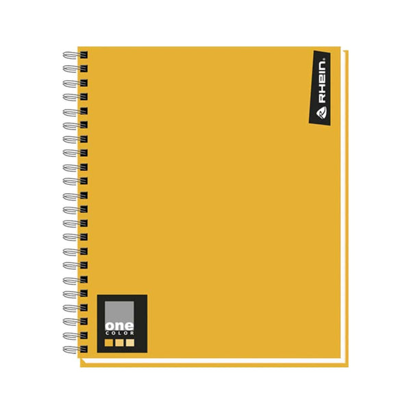 Cuaderno universitario 100 hojas one color rhein