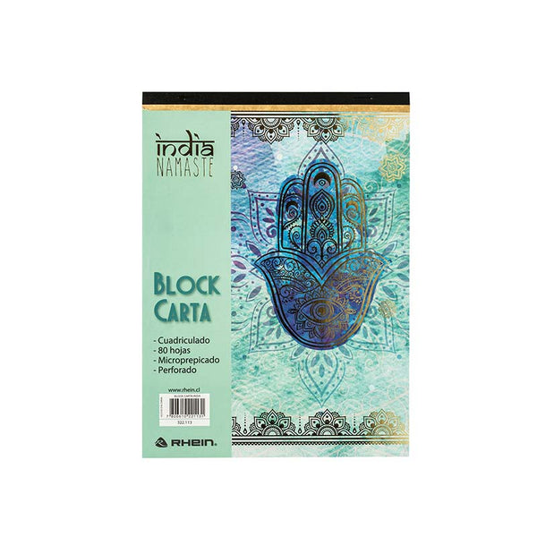 Block carta 7mm india rhein