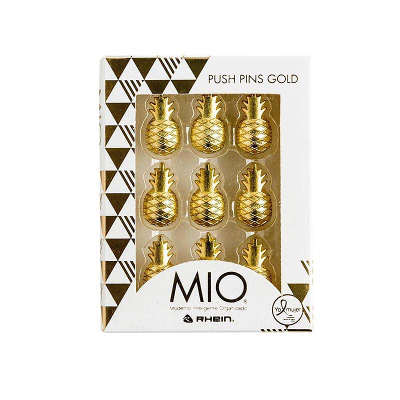 Push pins gold