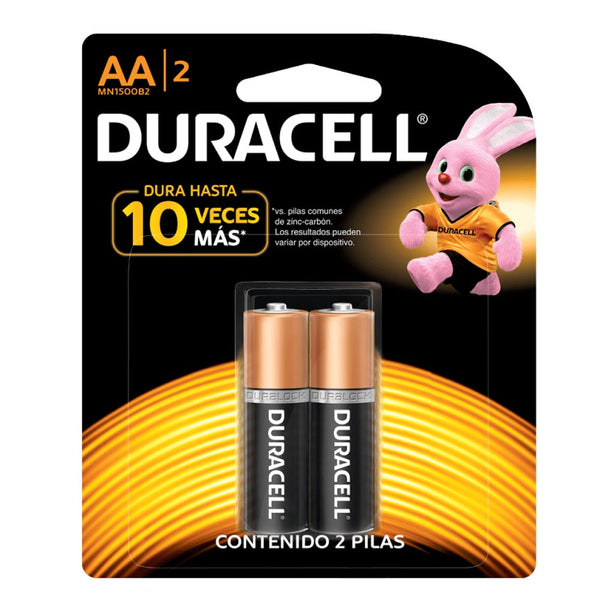 Pack Duracell AA 2 Unidades