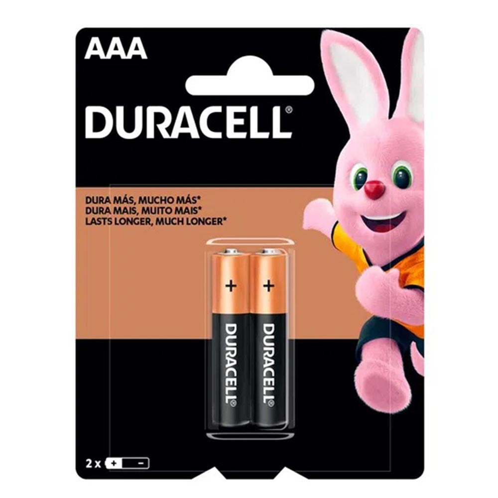 Pack Duracell AAA 2 Unidades