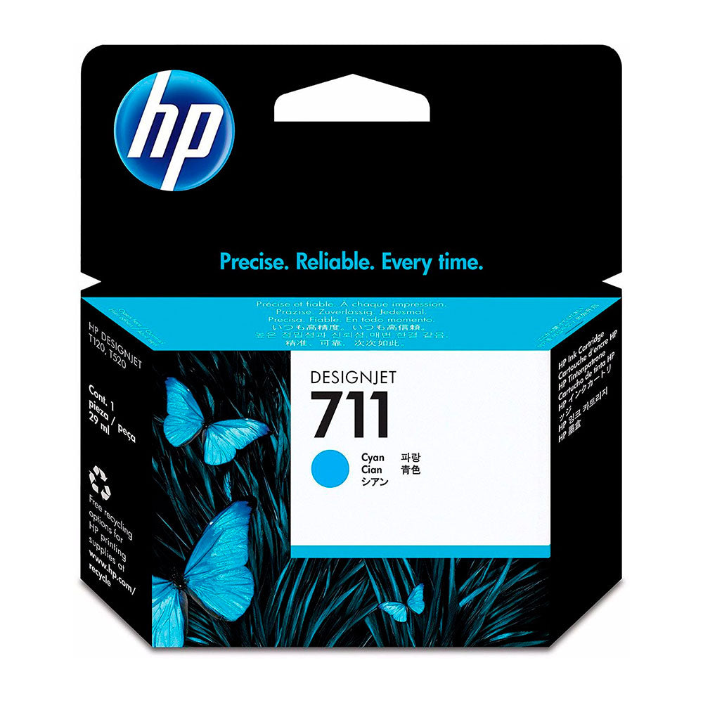 Cartridge Hp 711 Cyan
