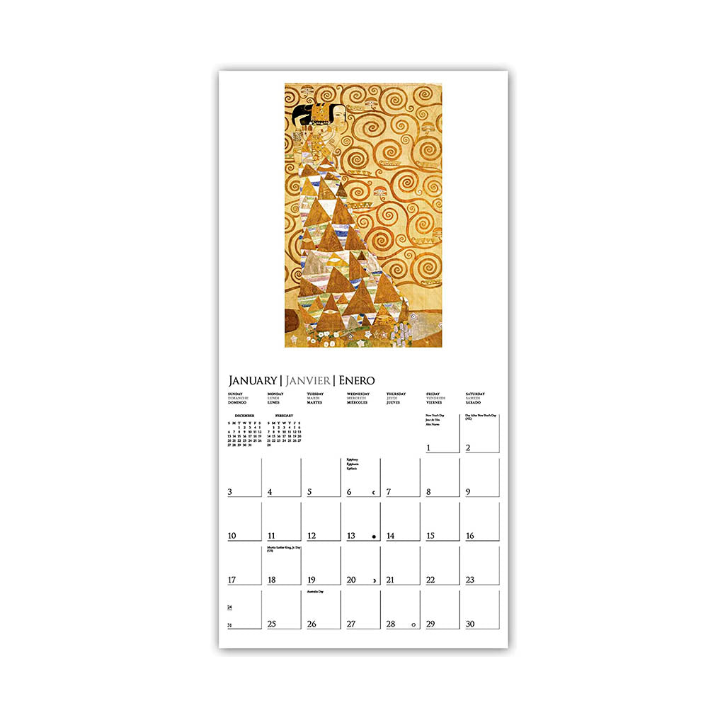 Calendario Pared 2021 Klimt - 16 Meses