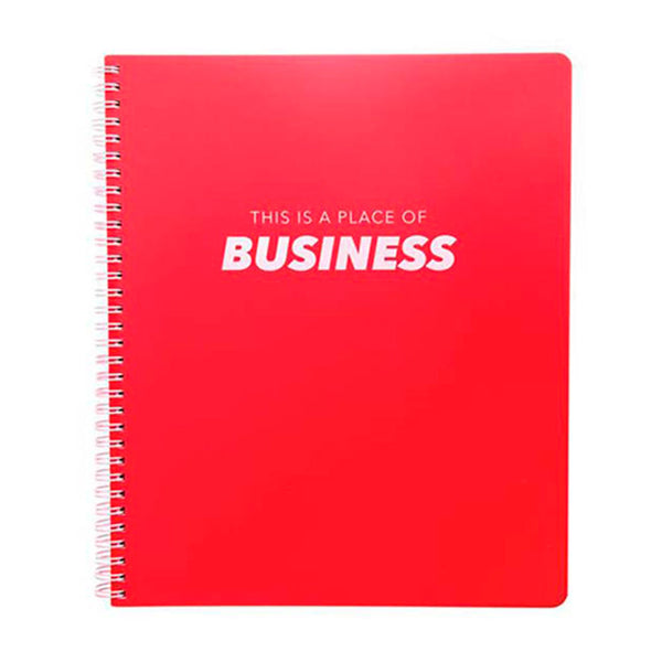 Cuaderno con Espiral Grande - Business Graphique