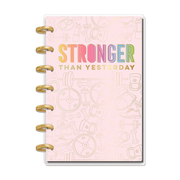 Agenda Sin Fecha Happy Planner Mini Fitness