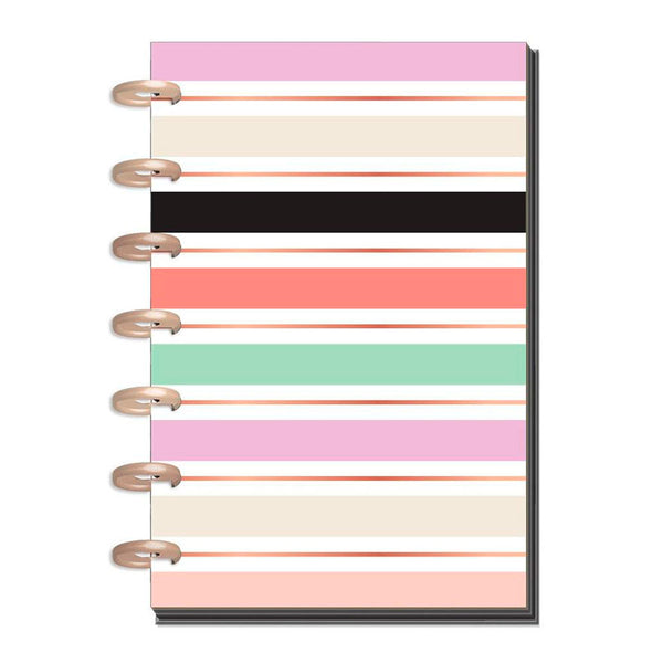 Agenda Sin Fecha Happy Planner Mini Lovely Pastel