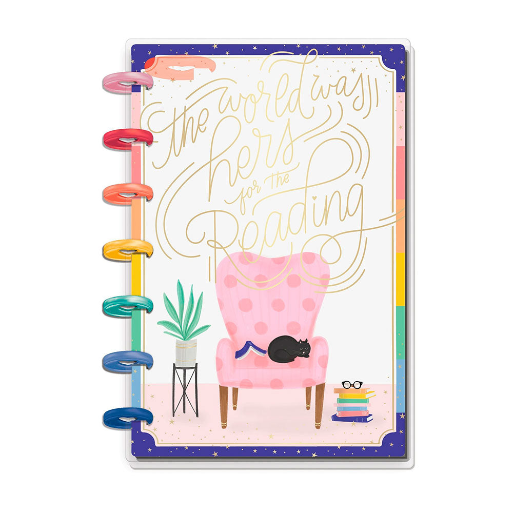 Agenda Sin Fecha Happy Planner Mini Bookish