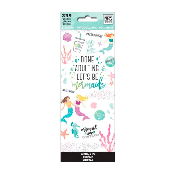 Set Stickers Happy Planner Sueños en Pastel